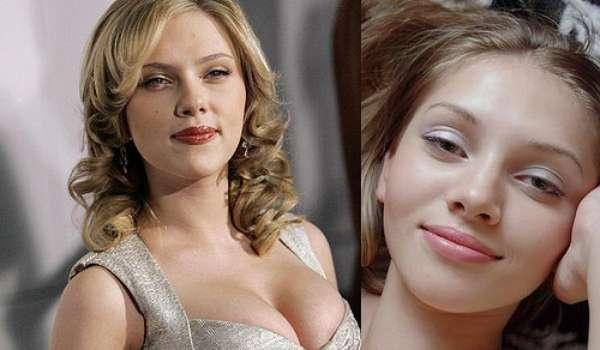 La belleza y la elegancia de las actrices de Hollywood contrasta con la imagen agresiva de las actrices porno. Pero en más de una ocasión, la belleza de una imita o sobrepasa a la otra. Esta es una lista de los clones porno de las famosas de Hollywood. Scarlett Johansson y la actriz de X-Art, Amanda.