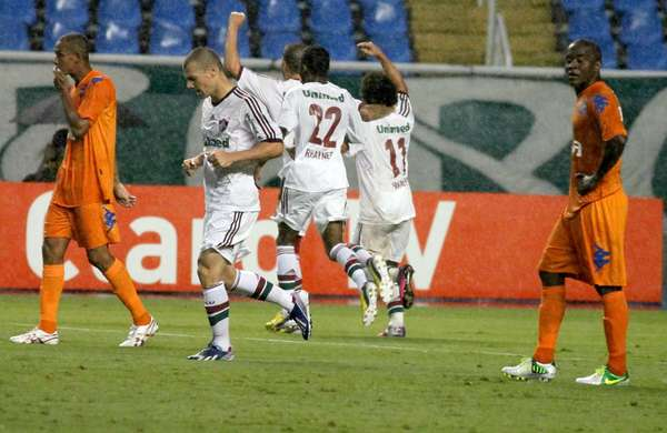 O Fluminense sofreu para furar a defesa do Audax, mas estreou na Taça Rio com vitória por 1 a 0