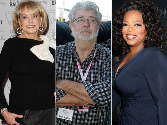 La revista Forbes dio a conocer el listado de las celebridades más influyentes en el año. Lo sorprendente es que esta vez no hay ninguna celebridad 'joven' sino puros 'maduritos' exitosos de Hollywood. ¡Conócelos!