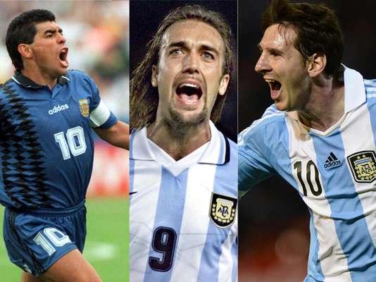 Una de las selecciones campeonas del mndo tiene grandes nombres entre sus máximos goleadores. Terra te invita a conocerlos.