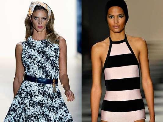 O segundo dia do São Paulo Fashion Week provou que o verão 2014 vai ter listras e xadrezes à profusão. Confira os looks