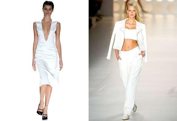 Simplicidade, mas sem deixar de lado o glamour. Os estilistas do SPFW mostraram como o branco pode ser o tom tendência para o próximo verão. Confira
