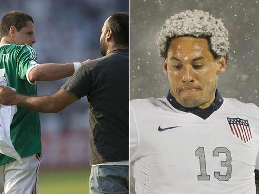 Un aficionado que invadió la cancha en el empate entre Honduras y México y una fuerte nevada que dificultó las acciones en la victoria de Estados Unidos sobre Costa Rica fueron los protagonistas en los duelos de las eliminatorias de Centro y Norte América. Terra te trae lo que no viste de los juegos del hexagonal de la CONCACAF.