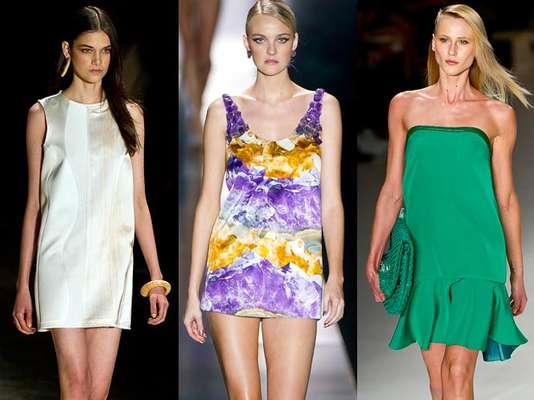 O SPFW apresentou vestidos de todas as formas na edição verão 2014. Modelos decotados, com transparência, colados ao corpo ao mais largo. Teve de tudo, confira