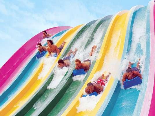 Aquatica Orlando - Um lugar que reúne aquário, zoológio, parque aquático e parque de diversões ao mesmo tempo não pode passar batido. Com quase 340 km² de praia com areia branca e cabanas para alugar, é possível passar um dia inteiro coma família aproveitando o sol