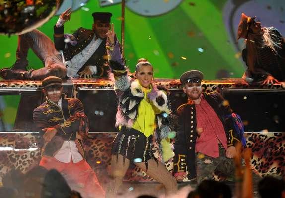 Kesha se apoderó del escenario animando a todos los invitados