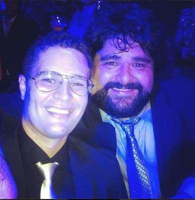 Pedro Leonardo e o sertanejo Fabiano (da dupla com César Menotti)