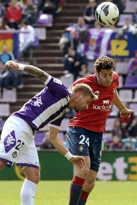 Jornada 29ª. Valladolid 1 - Osasuna 3