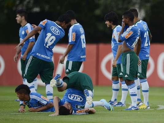 Palmeiras volta aos treinos nesta quinta-feira para jogos decisivos da próxima semana