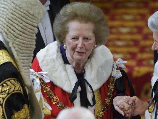 """Margaret Thatcher murió tras un accidente cerebrovascular a los 87 años. Conocida como la """"Dama de hierro"""", fue la única mujer que alcanzó el cargo de primer ministro en Gran Bretaña, el mismo que ejerció desde 1979 a 1990."""