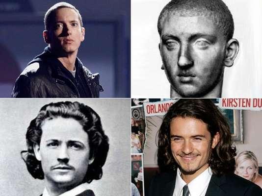 ¿Creen en la reencarnación? Algunos personajes históricos tal parece que regresaron a nuestros tiempos pero en el cuerpo de los famosos. ¿Quiénes son? ¡Míralos!