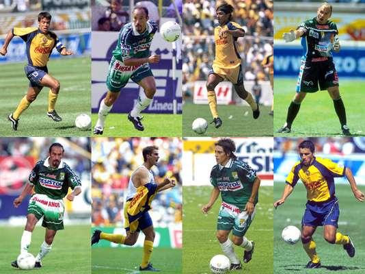 Recuerda a los jugadores de León y América en su último partido en el Nou Camp