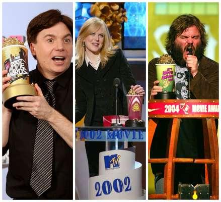 Doradas, rosa, negras... De todos los colores han sido las copas de palomitas de los MTV Movie Awards . El diseño de este aclamado trofeo ha sido modificado una y otra vez y nunca, así como lo lees, nunca ha repetido en dos ocasiones distintas. ¡Míralos!