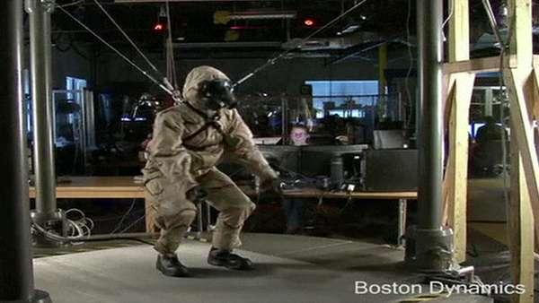 A companhia Boston Dynamics, dos Estados Unidos, revelou seu mais novo robô-soldado, chamado Petman