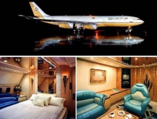 Estas aeronaves tienen todos los lujos soñados, pisos de oro, cómodas habitaciones, pantallas, deliciosa gastronomía y demás.