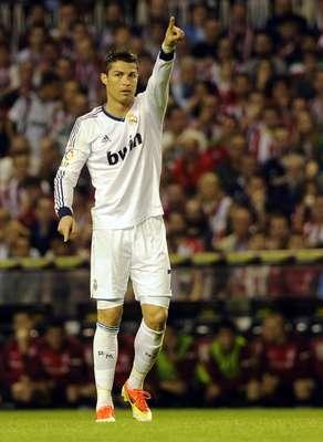 Ante el Athletic de Bilbao, Cristiano Ronaldo marcó su duodécimo gol de falta directa desde que llegó a España.