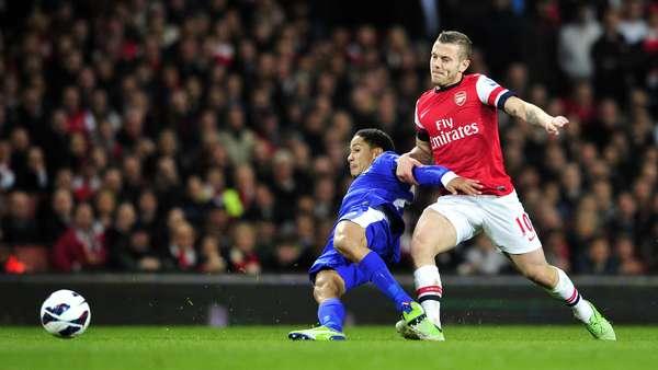 El Arsenal vio frenada su buena racha en la Premier League y empató sin goles con el Everton este martes en un partido aplazado de la Liga Premier