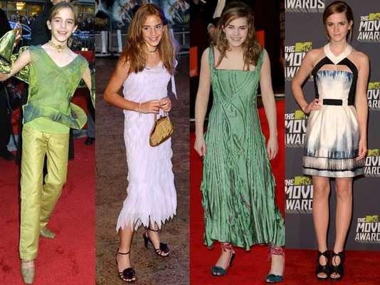 De ser la pequeña niña que no tenía idea de la moda, Emma se convirtió en una mujer con gran estilo y considerada una de las jóvenes mejor vestidas.