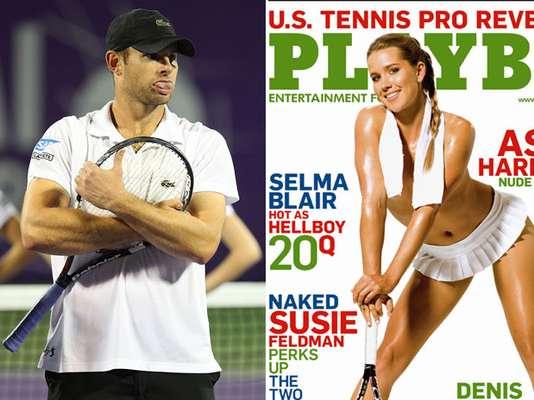 Capa da Playboy americana em 2008, a tenista Ashley Harkleroad teria vivido um romance com o também tenista e compatriota Andy Roddick. Ex-número 1 do mundo, Roddick se casou com a modelo Brooklyn Decker em 2009 e se aposentou em 2012