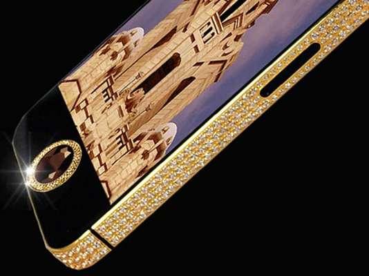iPhone 5 com diamante negro é avaliado em US$ 15 milhões