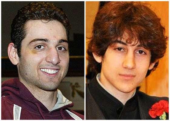 O atentado na maratona de Boston, ocorrido na última segunda-feira, deixou três mortos e mais de 100 feridos. Os suspeitos de terem cometido o atentado são os irmãos Tamerlan Tsarnaev, 26 anos (esq.),e Dzhokhar A. Tsarnaev, 19 anos