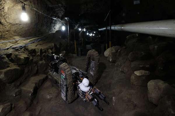 A exploração robótica do subsolo de um templo da cidade pré-colombiana de Teotihuacan, nos arredores da Cidade do México, revelou a existência de três câmaras que poderiam esconder segredos sobre rituais funerários de seus governantes