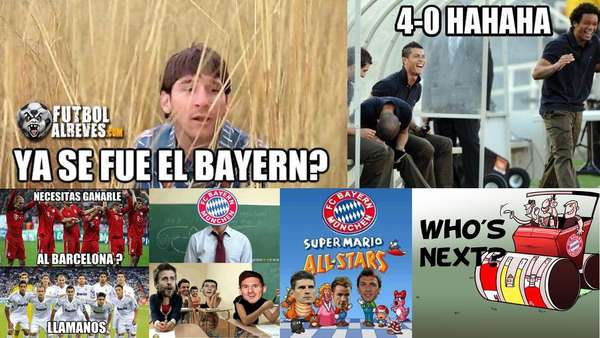 Without a doubt, the big thrashing suffered by a great team like Barcelona generates a lot of reactions throughout the planet. The 'Blaugranas' were defeated4-0 by Bayern Munich in Germany and several jokes were found in the social networks. The following are the best ones.