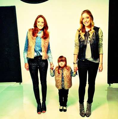Rafa Justus posou ao lado da mãe Ticiane Pinheiro e da irmã Fabiana Justus para campanha de Dia das Mães da Pop Up Store