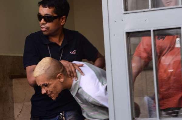 Segundo a Polícia Militar, três bandidos invadiram o consultório de Cinthya Magaly Moutinho de Souza para tentar assaltar o local