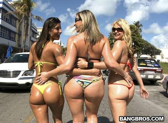 Bang Bros es una productora pornográfica fundada en el año 2000 en el corazón de Miami. La compañía cuenta con 36 sitios web donde publican los videos que graban en Miami y Los Ángeles. AssParade, BangBus y TugJobs son algunas de las series más famosas de Bang Bros.