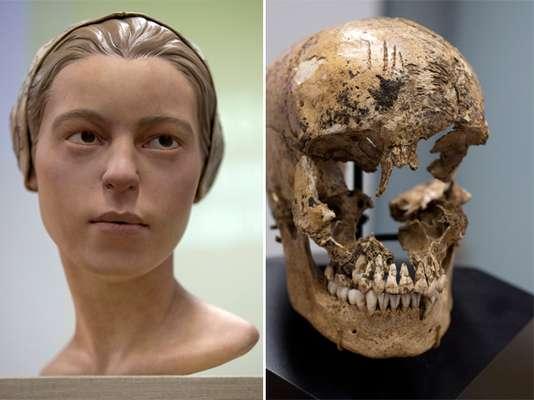 Arqueólogos anunciaram a descoberta dos ossos de uma jovem de 14 anos de idade que mostram sinais claros de que ela havia sofrido canibalismo