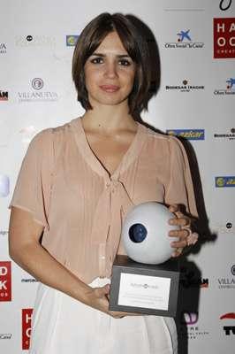 Elena Furiase se ha convertido en una joven y reconocida artista. El pasado lunes, la hija de Lolita Flores fue premiada en la tercera edición de los premios Kerygma celebrados en la madrileña sala de Florida Park.