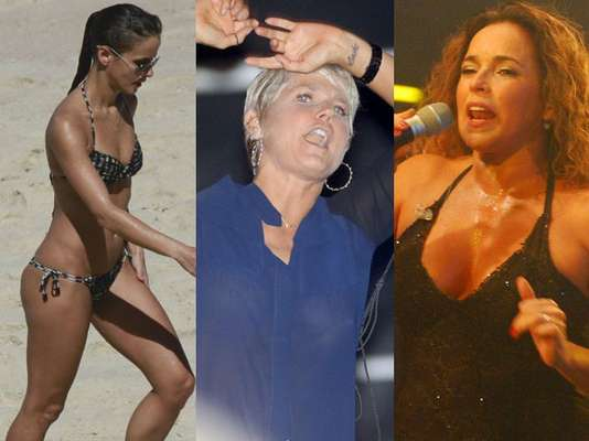 Fernanda Freitas, Xuxa e Daniela Mercury foram três artistas que agitaram o fim de semana dos famosos. A atriz aproveitou uma praia carioca e mostrou a boa forma, já a apresentadora global mostrou um pouco mais ao usar uma blusa transparente em show de Ivete Sangalo. Daniela, por sua vez, se apresentou em Pernambuco. Navegue pela galeria e veja mais fotos!