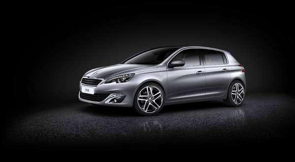 A Peugeot revelou imagens do novo 308
