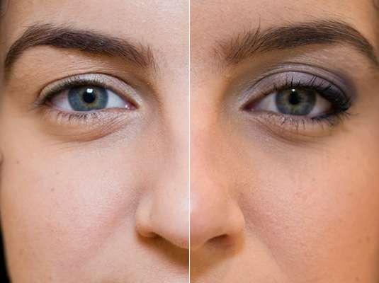 """Wilians Santos, make-up stylist da Clinique, ensina um passo a passo de como maquiar olhos pequenos e dar a impressão de """"aumentar"""" os olhos"""