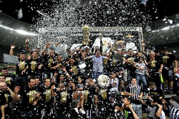 O Ceará conquistou neste domingo o tricampeonato do Campeonato Cearense ao empatar por 1 a 1 com o Guarany de Sobral, no Castelão