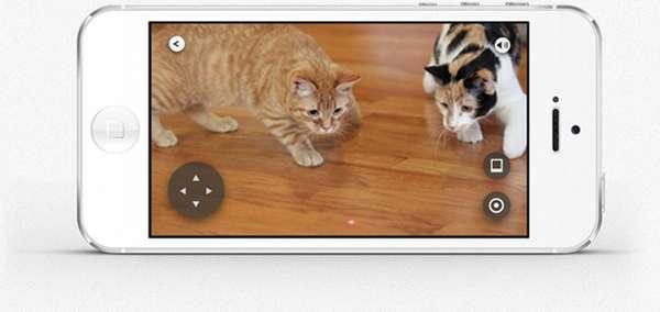 O aplicativo permite que qualquer um faça o login e brinque com animais de estimação em todo o mundo