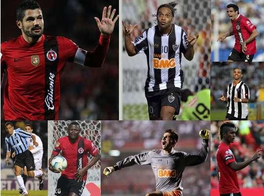 Un auténtico duelazo se llevara a cabo en los cuartos de final de la Copa Libertadores, toda vez que Xolos de Tijuana enfrentará al Atlético Mineiro de Ronaldinho, la escuadra favorita para llevarse el título sudamericano. Por ello, te presentamos a los jugadores a seguir de tan espectacular choque.