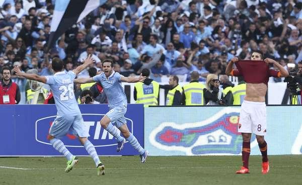Com gol de Lulic, a Lazio venceu clássico com a Roma e se sagrou campeã da Copa da Itália; veja