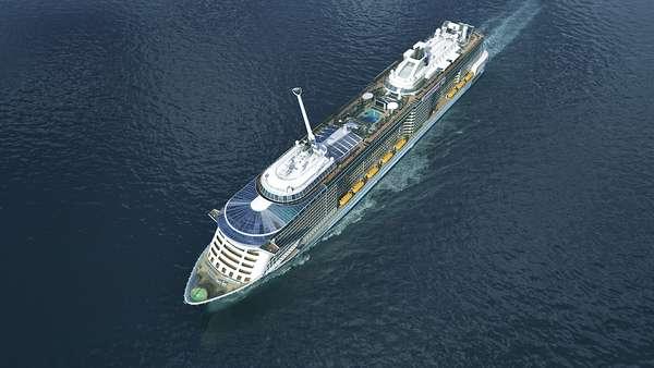 Foi marcada para 23 de novembro de 2014 a viagem inaugural do Quantum of the Seas
