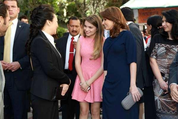 Ang lica rivera da tour a primera dama china en televisa for Espectaculos recientes de televisa
