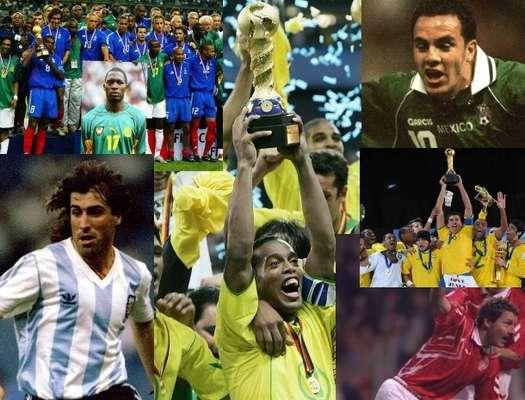 Brasil es bicampeón de la Copa Confederaciones y en total suma tres títulos en el torneo. Francia suma dos títulos y Argentina, Dinamarca y la Selección Mexicana ganaron en una ocasión.
