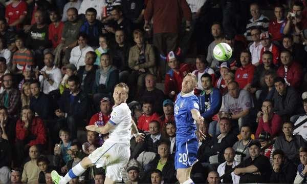 As Eliminatórias da Europa para a Copa do Mundo de 2014 contaram com partidas importantes nesta rodada, como o empate sem gols entre República Checa e Itália. Confira a seguir mais imagens