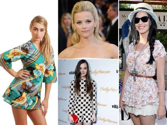 Las celebridades retoman lo más destacado de la moda de los 60 incorporándola a su ropero, a continuación te muestran cómo llevarla.