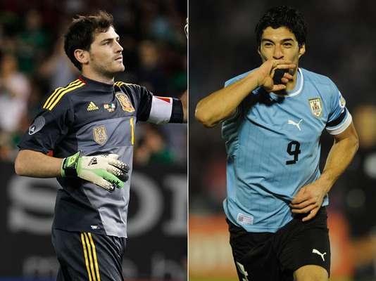 España y Uruguay debutarán el próximo 16 de junio en la Copa Confederaciones 2013, que se juega en Brasil. Con motivo de este partido, Terra te presenta a los jugadores y entrenadores que podrían ser los protagonistas de este encuentro.