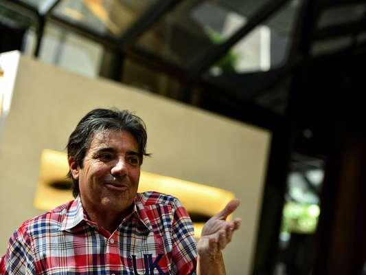 O apresentador dos programas Teste de Fidelidade e Você na TV, exibidos pela RedeTV!, durante entrevista ao Terra, realizada em hotel em São Paulo