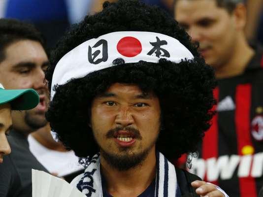 Torcedores do Japão e da Itália lotam a Arena Pernambuco, nesta quarta-feira, pelo grupo A; a vitória pode dar a classificação para a seleção italiana