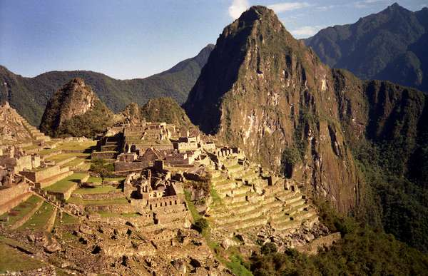 Machu Picchu, PeruConstruída no século 15,no coração dos Andes peruanos, a 2.500 metros acima do nível do mar, a antiga cidadela de Machu Picchu é um dos principais vestígios da civilização Inca