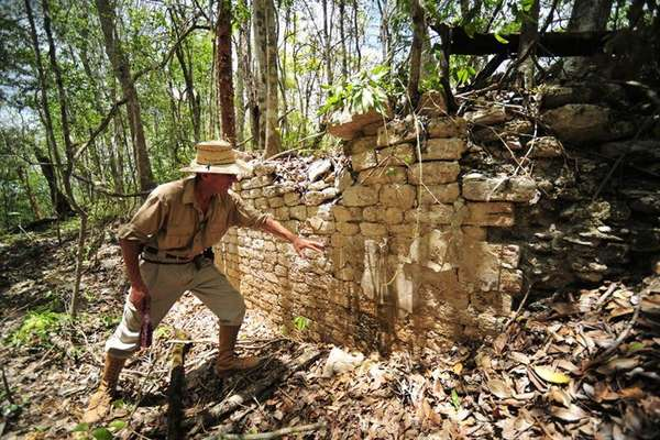 Uma antiga cidade maia que dominou uma vasta região há 1,4 mil anos foi descoberta em Campeche, no leste do México, por um grupo internacional de arqueólogos