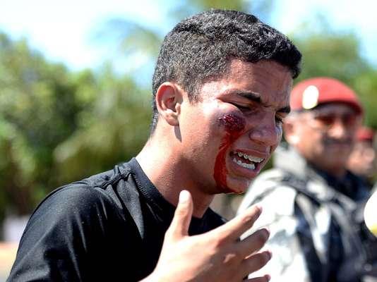 Em Brasília, Rio de Janeiro e Belo Horizonte, protestos terminaram em confronto com a Polícia Militar